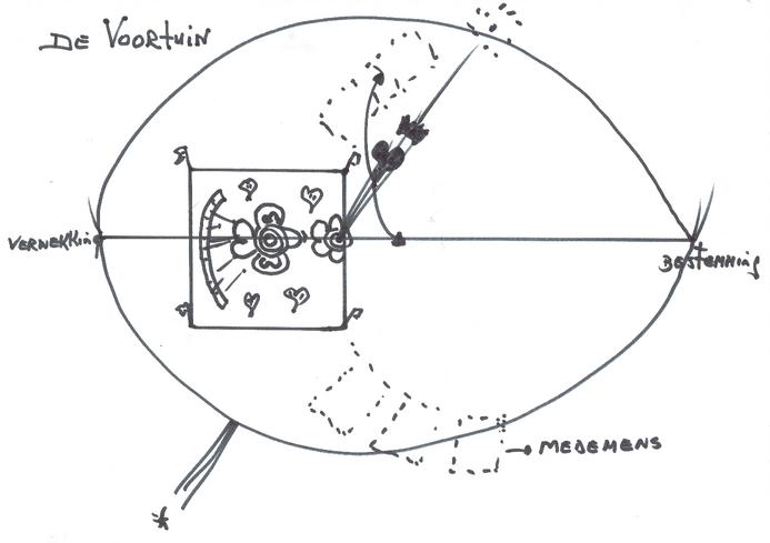 Op de afbeelding is een mat te waarop de persoon op de rand van de mat staat.